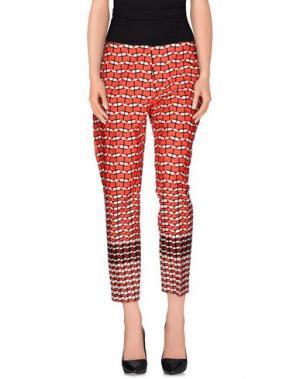 Повседневные брюки TARA JARMON. Цвет: коралловый