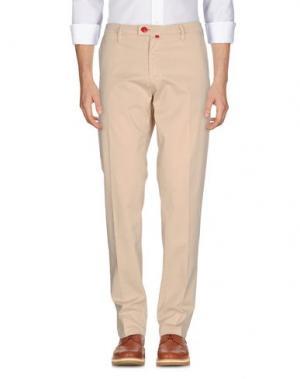 Повседневные брюки BARONIO. Цвет: песочный