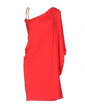 Платье до колена VANDA CATUCCI. Цвет: красный