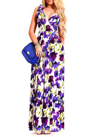 Платье LASKANY collezioni. Цвет: фиолетовый