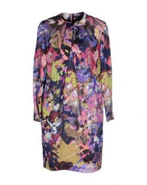 Короткое платье CHLOTILDE. Цвет: фиолетовый