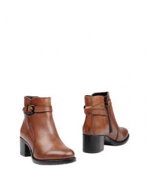 Полусапоги и высокие ботинки FRATELLI KARIDA. Цвет: коричневый