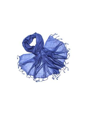 Палантин Ethnica. Цвет: синий