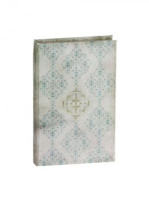 Декоративная книга-шкатулка Willow Tree. Цвет: голубой, серый