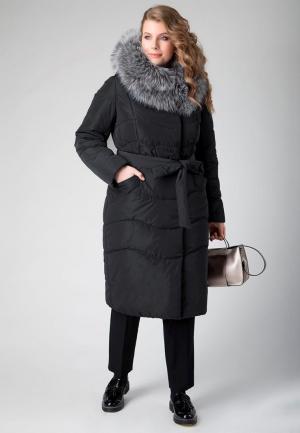Куртка утепленная Electrastyle. Цвет: черный