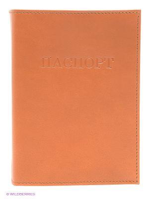 Обложка для паспорта Olci. Цвет: оранжевый