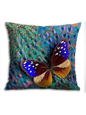 Подушка Gift'n'Home. Цвет: бирюзовый, коричневый, бежевый, синий, зеленый