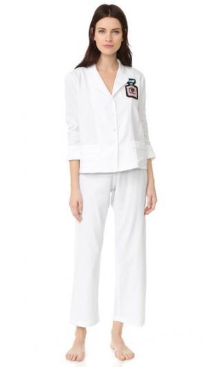 Пижама Paris Michaela Buerger. Цвет: рисунок в горошек