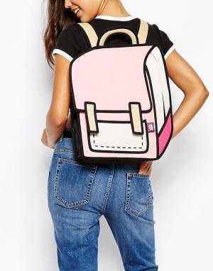 JumpFromPaper Розовый рюкзак. Цвет: розовый