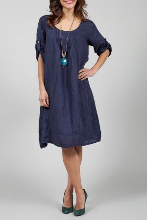 Платье La Belle Helene. Цвет: синий