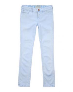 Повседневные брюки SCOTCH R'BELLE. Цвет: небесно-голубой