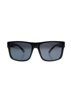 Солнцезащитные очки Happy Charms Family. Цвет: черный