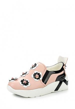 Кроссовки V&Florence. Цвет: розовый