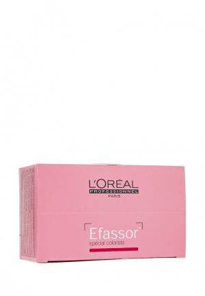Салфетки для удаления краски LOreal Professional L'Oreal. Цвет: розовый