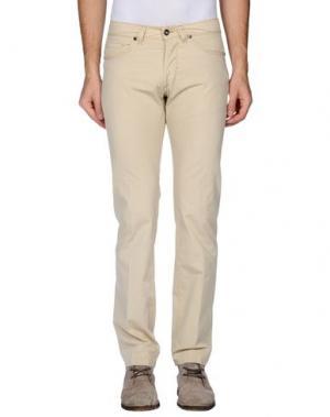 Повседневные брюки J.W. TABACCHI. Цвет: бежевый