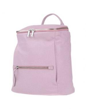 Рюкзаки и сумки на пояс GIUDI. Цвет: розовый
