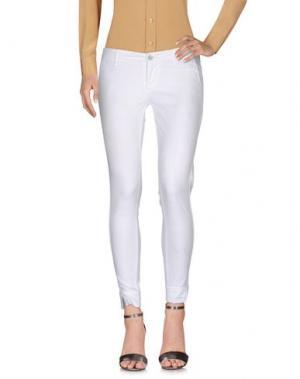 Повседневные брюки 0/ZERO CONSTRUCTION. Цвет: белый