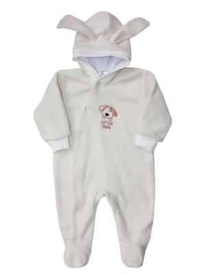 Комбинезон для малыша КОТМАРКОТ. Цвет: бежевый