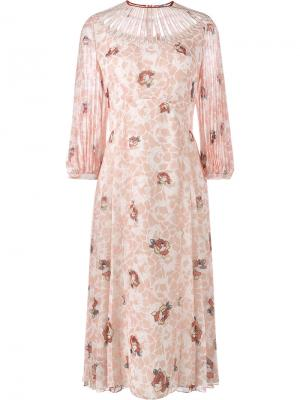 Платье Georgette Vilshenko. Цвет: телесный
