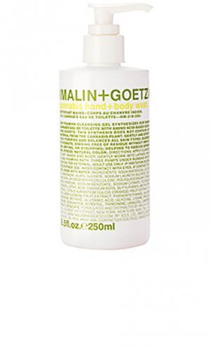 Гель-мыло для рук и тела каннабис MALIN+GOETZ. Цвет: beauty: na