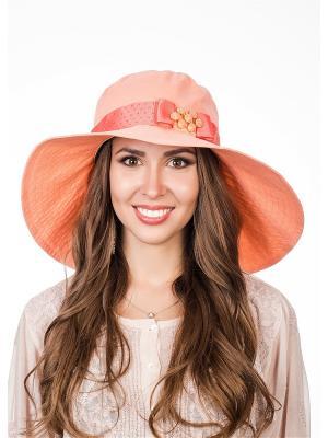 Шляпа Level Pro. Цвет: светло-оранжевый