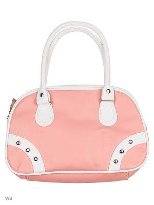Детская сумка Modis. Цвет: бледно-розовый, белый