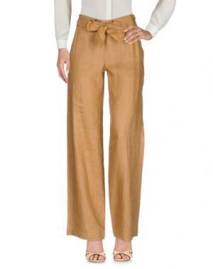 Повседневные брюки PEUTEREY. Цвет: верблюжий