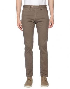 Повседневные брюки EXIBIT. Цвет: хаки