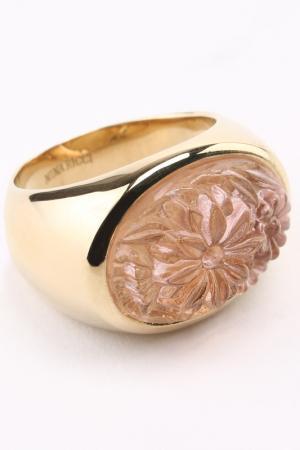 Кольцо Nina Ricci. Цвет: розовый