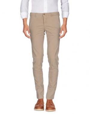 Повседневные брюки MASSIMO REBECCHI. Цвет: бежевый