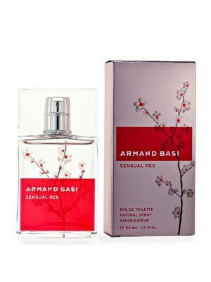 Sensual Red lady edt 50 ml Armand Basi. Цвет: красный, розовый