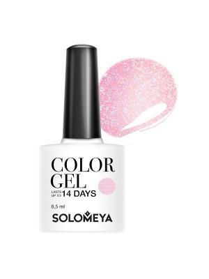 Гель-лак Color Gel Beatrice SCGK083/Беатрис SOLOMEYA. Цвет: бледно-розовый