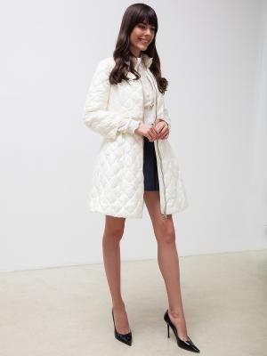 Пальто Clasna. Цвет: молочный