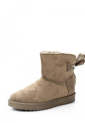 Полусапоги Max Shoes. Цвет: хаки