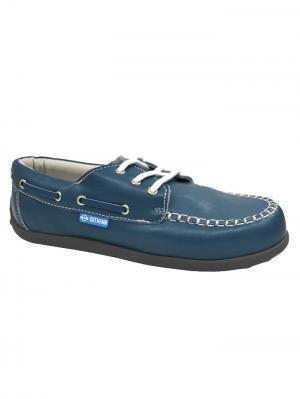 Обувь ортопедическая малосложная GENOVA, арт. 7.67.2 ORTMANN. Цвет: голубой