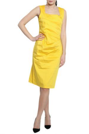 Платье Moda di Chiara. Цвет: желтый