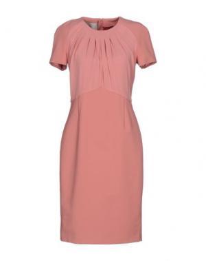 Платье до колена BETTY BLUE. Цвет: розовый