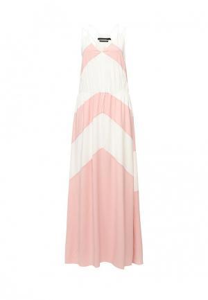 Платье Silvian Heach. Цвет: розовый