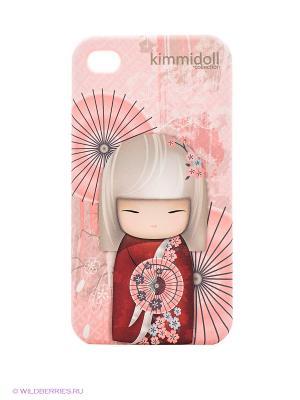 Чехол для iPhone 4/4s Kimmidoll. Цвет: розовый