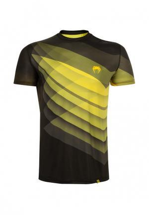 Футболка Venum. Цвет: желтый