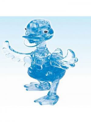 Crystal Puzzle 3D Утенок L New Склад Уникальных Товаров. Цвет: голубой