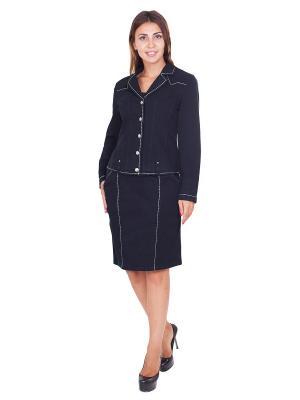 Пиджак LAFEI-NIER. Цвет: черный