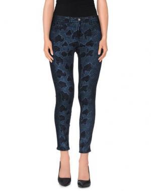Повседневные брюки LEGZ. Цвет: синий