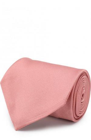 Шелковый галстук Tom Ford. Цвет: коралловый