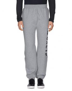 Повседневные брюки UNDEFEATED. Цвет: светло-серый
