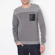 Пуловер Из Полос Доставка