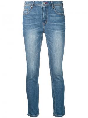 Укороченные джинсы Guild Prime. Цвет: синий