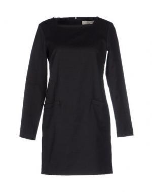 Короткое платье MAURO GRIFONI. Цвет: черный