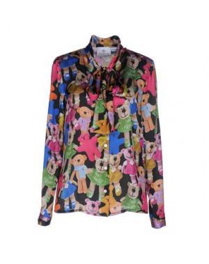 Pубашка PIU' &. Цвет: черный