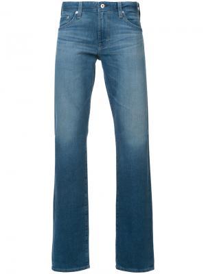 Джинсы кроя Graduate Ag Jeans. Цвет: синий